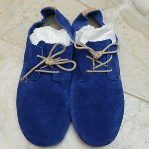 🎈🎊🎈HOST PICK 🎈🎉🎈Sanuk Blue Suede Biancas